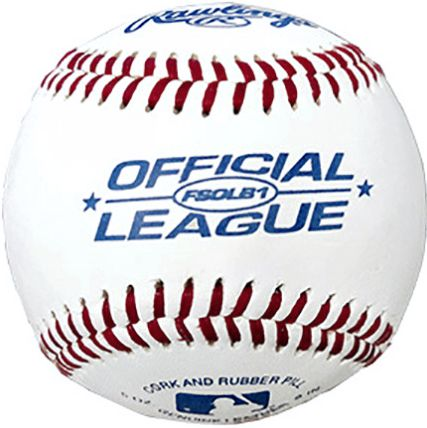 large Official leather baseballs