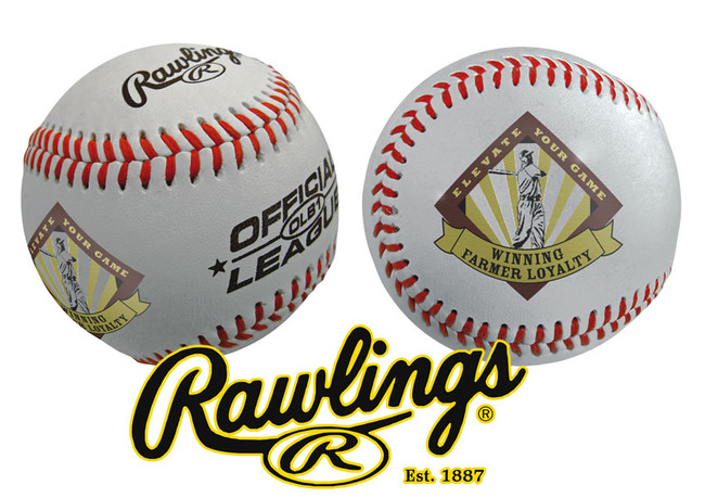 to enlarge baseballs