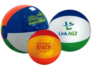 promotional, trade show customized, printed, party, travel,  giveaway, advertising beach balls