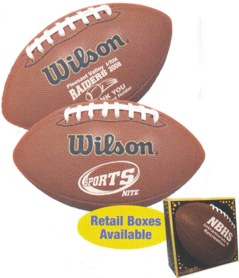 wilson composite leather footballs