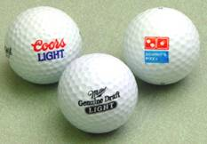 custom imprinted golf balls, promotional,  Titleist dt carry, wilson staff, nike power distance, pinnacle gold, customized, printed and personalized for advertising,  long distance.