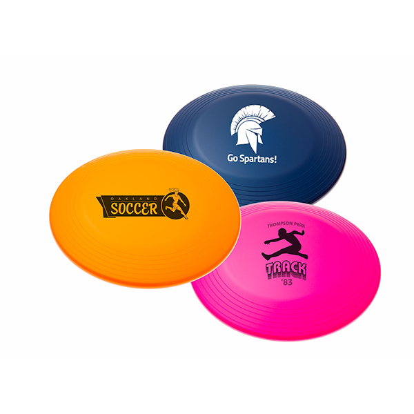 imprinted frisbees